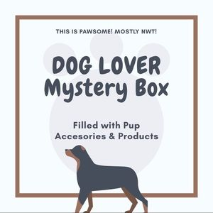 🐾 DOG LOVER Mystery Box: Filled with Pup Items!